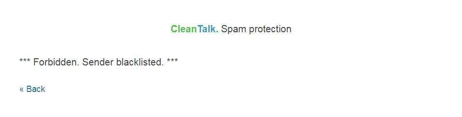MODX spam block
